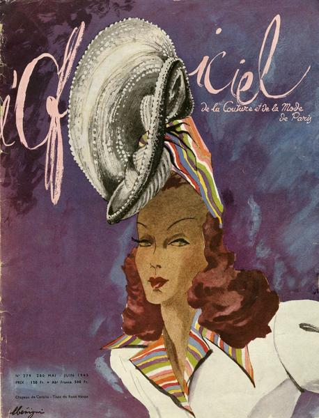 L'Officiel magazine, June 1945