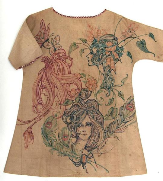 Artist-Painted Paper Dress, American, c. 1967