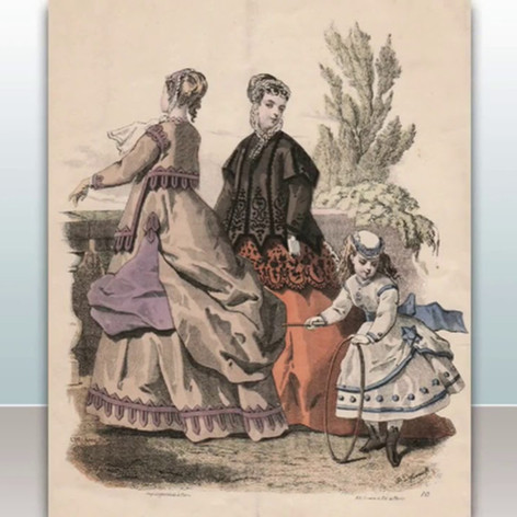 Victorian fashion plates 1837 - 1901