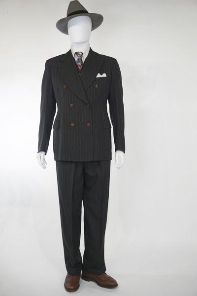 Wool Pin-Stripe Suit by Eaton's, c. 1940