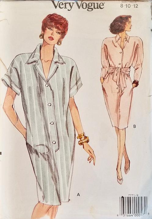 1990 Vogue dress #7771