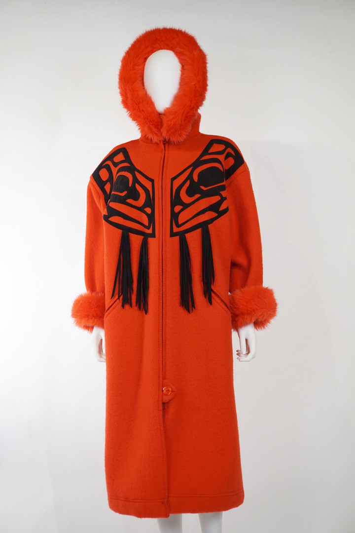 Red Wool Coat, 1994
