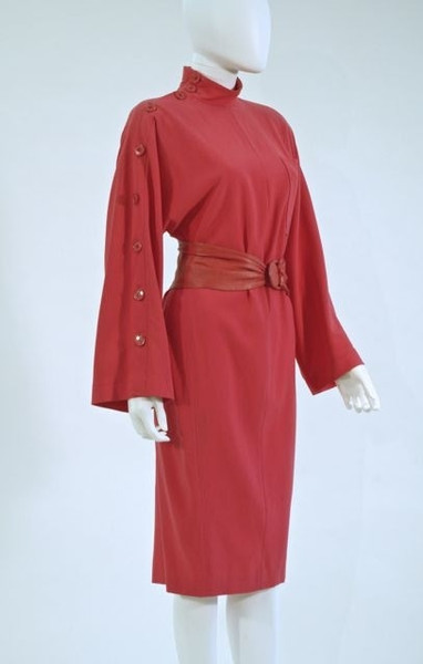 Dress by Gianfranco Ferre, Italy, late 1980s