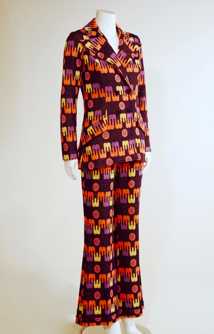 Double Knit Pantsuit, 1972