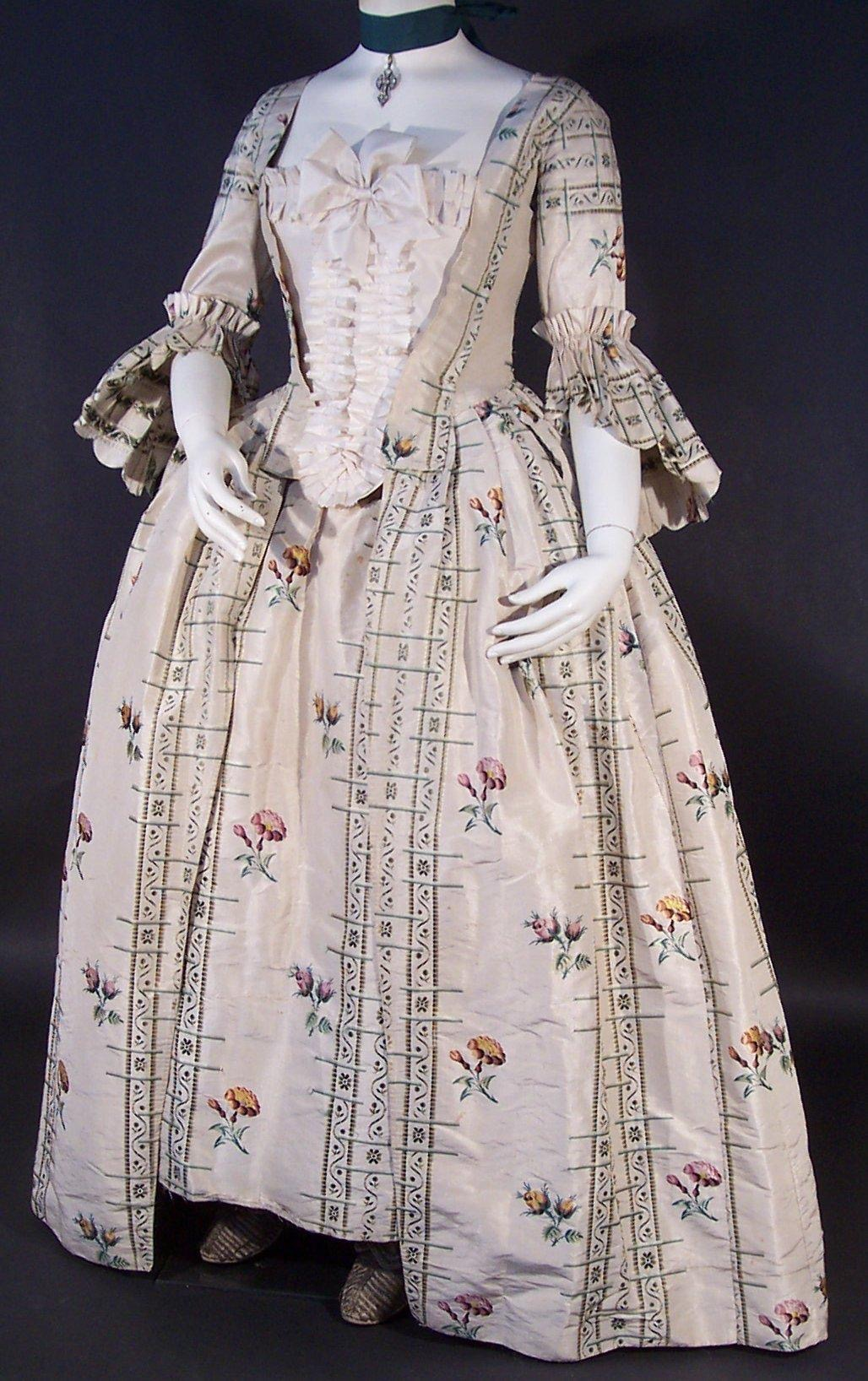 English silk brocade dress, c. 1765.jpg