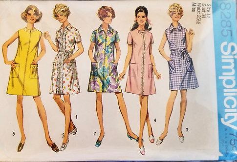 1969 Simplicity dress pattern #8285