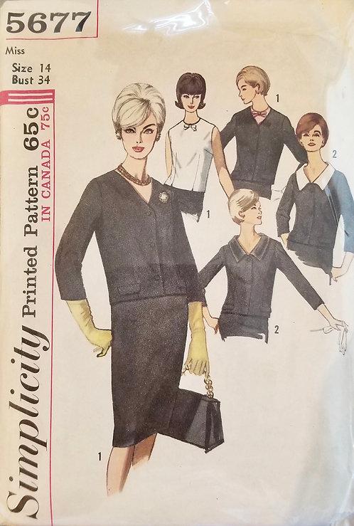 1964 Simplicity ensemble pattern #5677