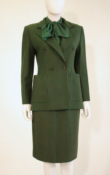 Tweed Suit, by Christian Dior, France, early 1980s