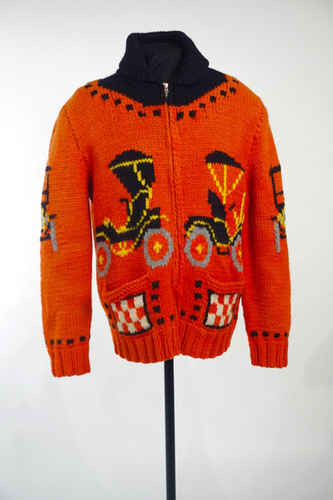Mary Maxim Curling Sweater, c. 1960