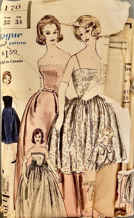 1960 Vogue pattern #1170