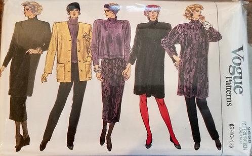 1986 Vogue separates pattern #9698