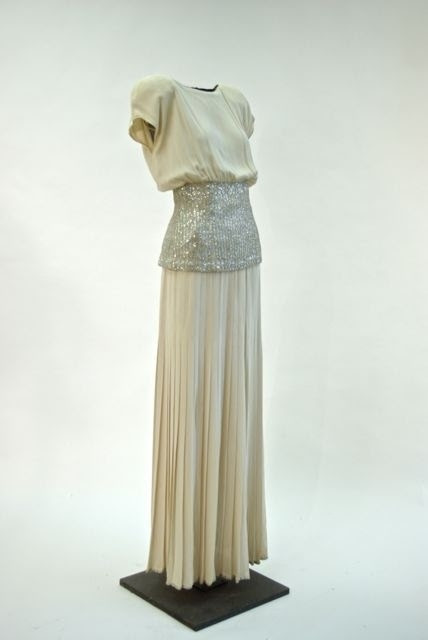 Evening Gown, Valentino couture, Italy, early 1980s
