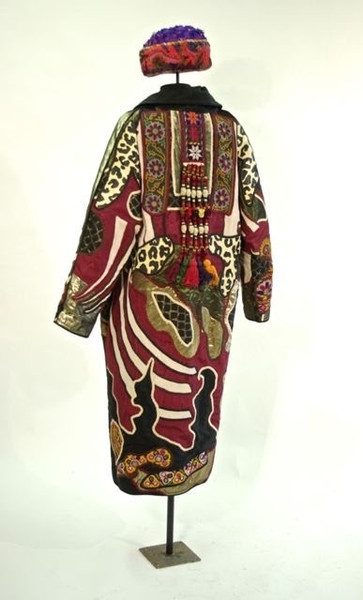 Appliqué and Patchwork Coat by Judith Roberts, Mexican, mid 1980s