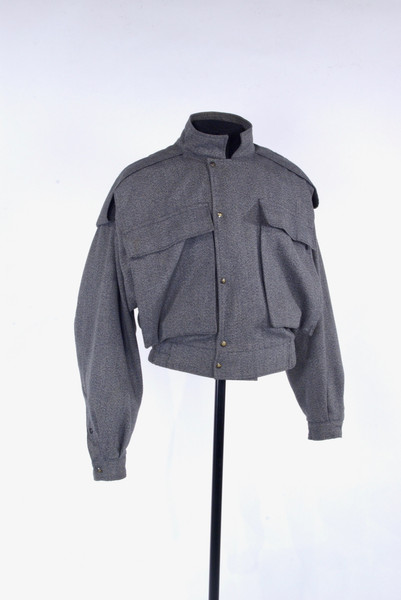 Grey Wool Jacket by Parachute, 1982