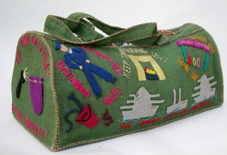 Green duffle bag (1942-1945)