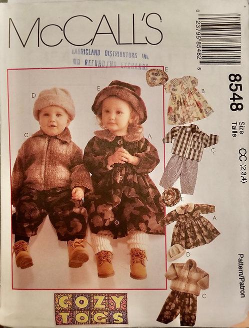 1996 McCall's pattern #8548