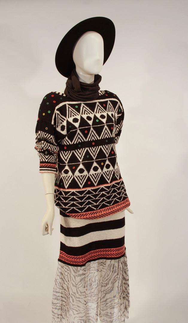 Sweater Dress, by Marika Contompasis, American, mid 1980s