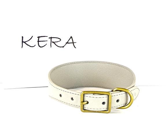Kera Greyhound Collar - Light Grey