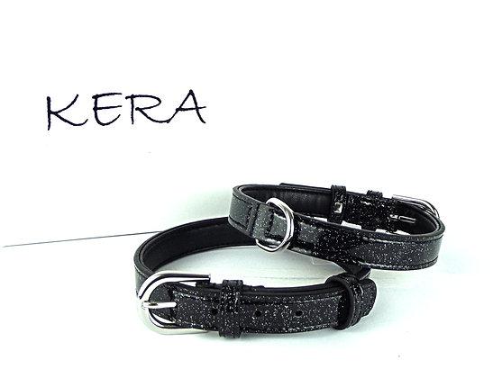 Glitz Collar by Kera - Black Glitter