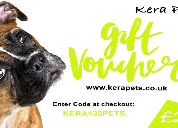 Personalised Kera Gift Voucher £25