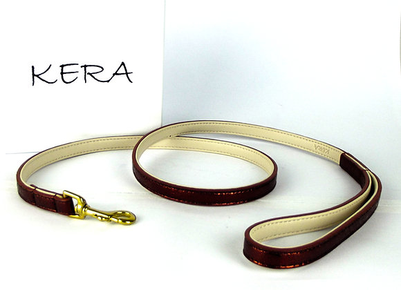 Glam Leather Lead by Kera - Red