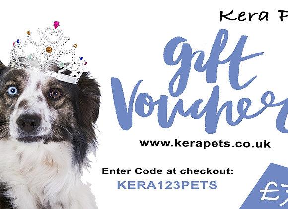 Personalised Kera Gift Voucher £75