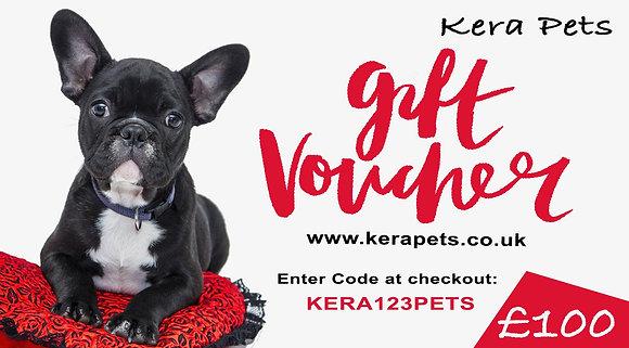 Personalised Kera Gift Voucher £100