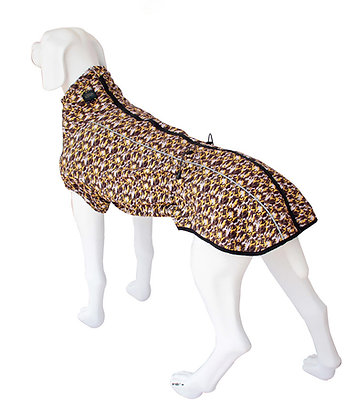 Yellow Camouflage Dog Jacket