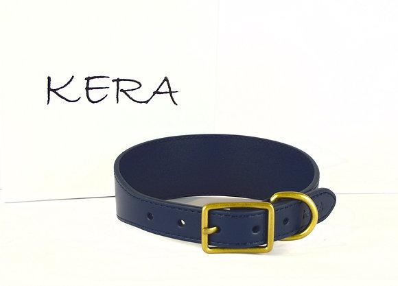 Kera Greyhound Collar - Midnight Blue