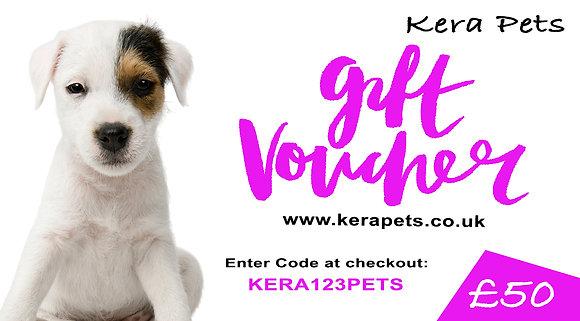 Personalised Kera Gift Voucher £50