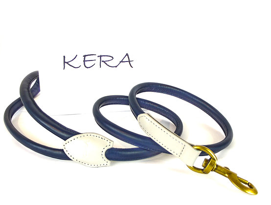Kera Rolled Leather Lead