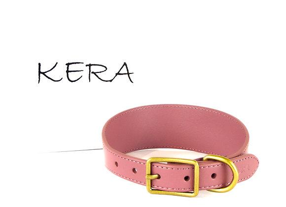 Kera Greyhound Collar - Dusky Pink