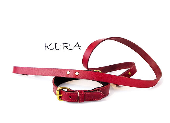 Red by Kera Collar and Lead Set