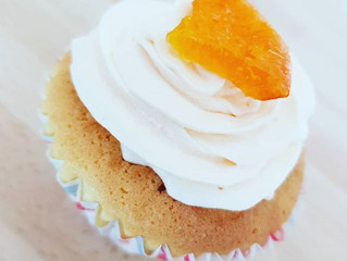 St Giles Gin, Tonic & Clementine Cupcakes, a great tea time treat!!