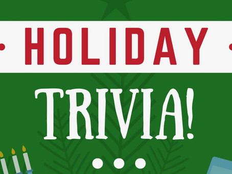 HOLIDAY TRIVIA: DEC 3