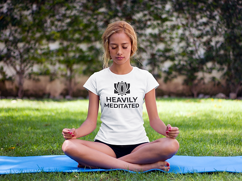 Heavily Meditated Scoopneck T-Shirt