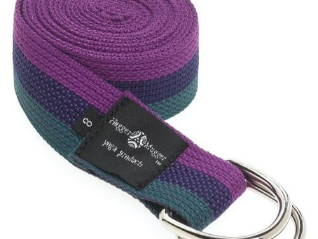 Hugger Mugger D-Ring Yoga Strap Review
