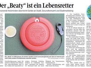 """Der """"Beaty"""" ist ein Lebensretter"""