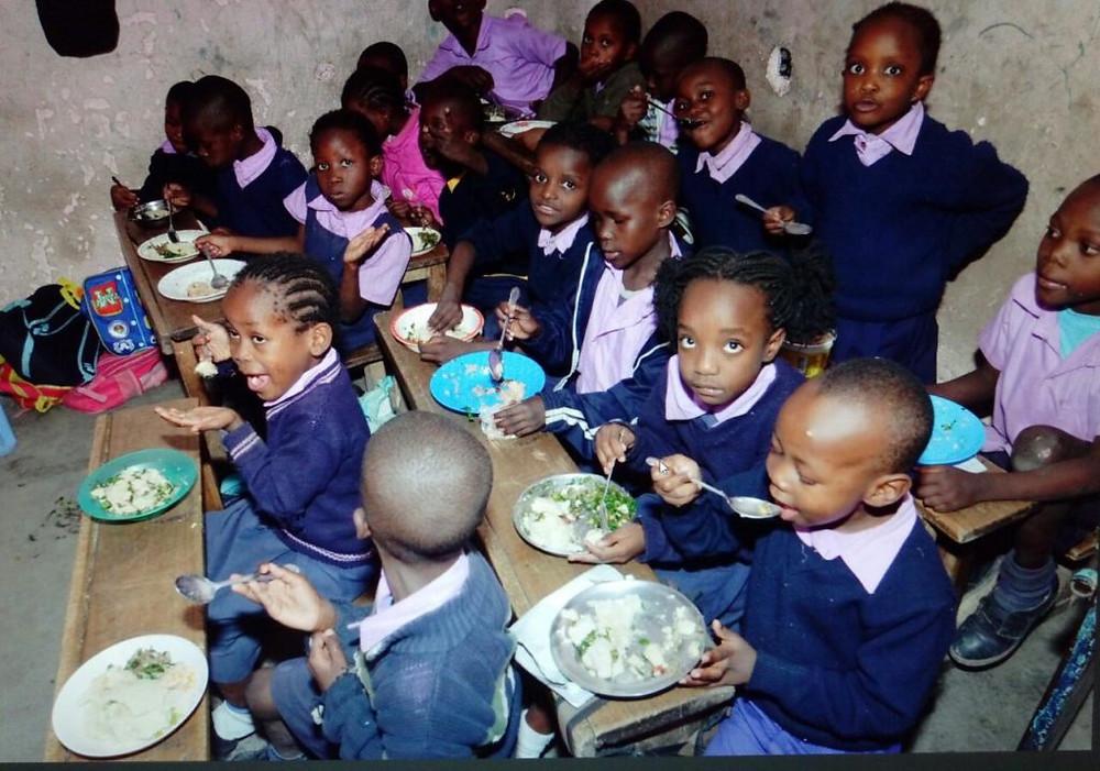 Feeding Program at Amson Education Centre