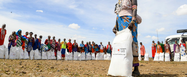 Elephant Cooperation Delivers Food Assistance To Kenyan Wildlife Villages In Need