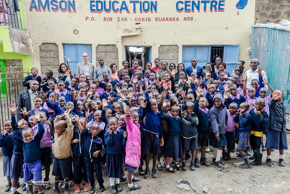 Students at Amson Education Centre