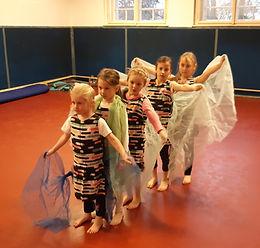 Letní taneční soustředění pro děti + rodiče, Loutí 2020