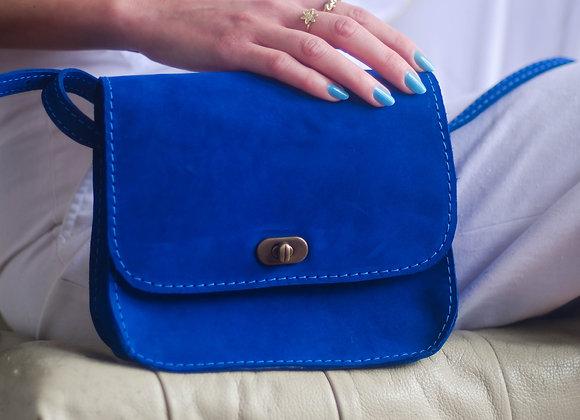 Bolsa Saddle Azul
