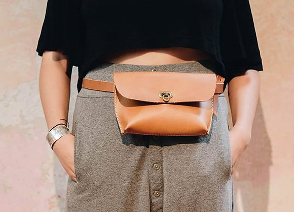 Belt Bag Plinia Caramelo