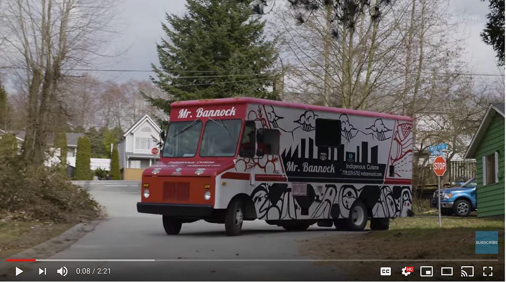 Mr. Bannock Food Truck
