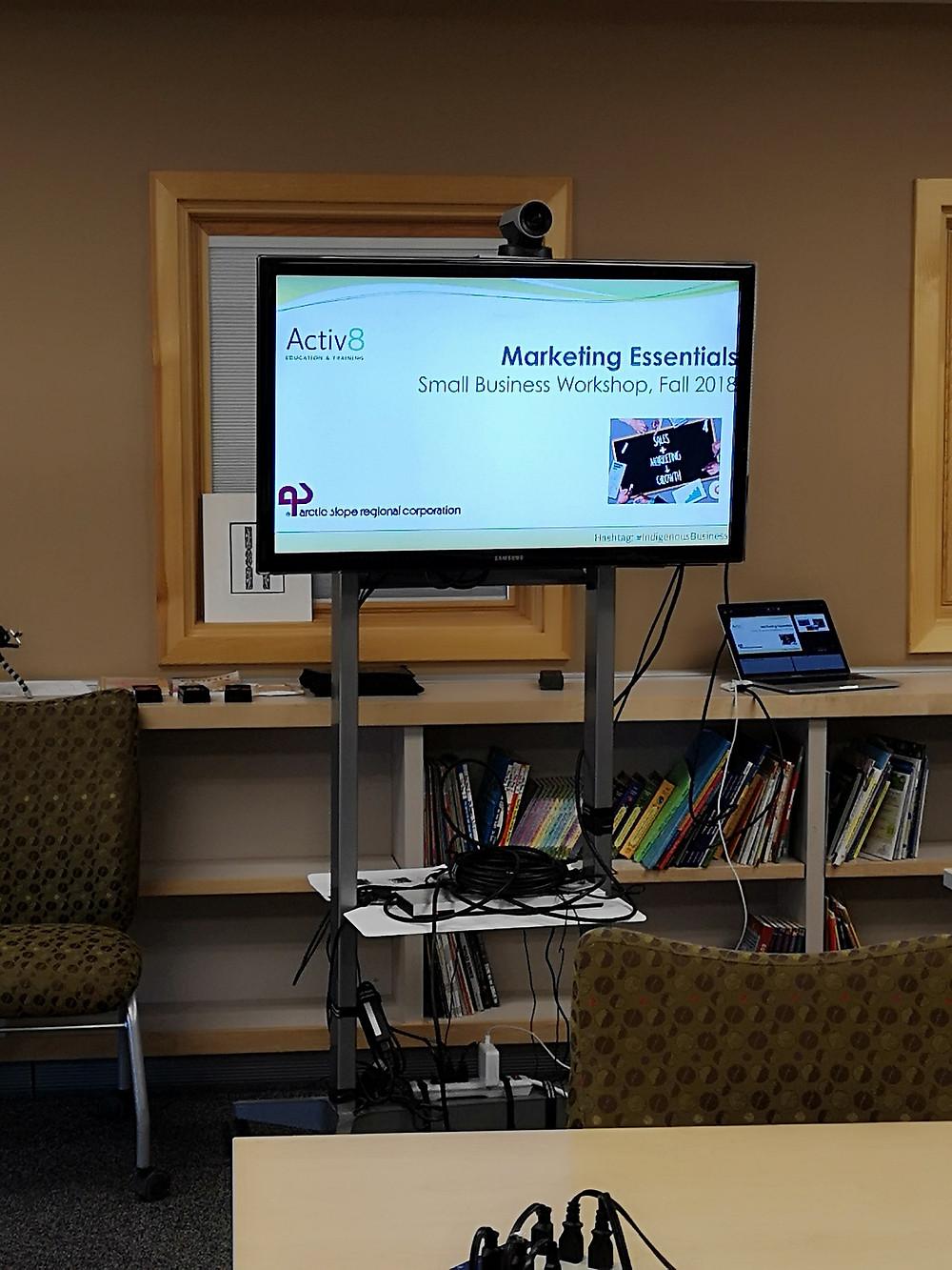 Activ8's Indigenous Marketing Workshop