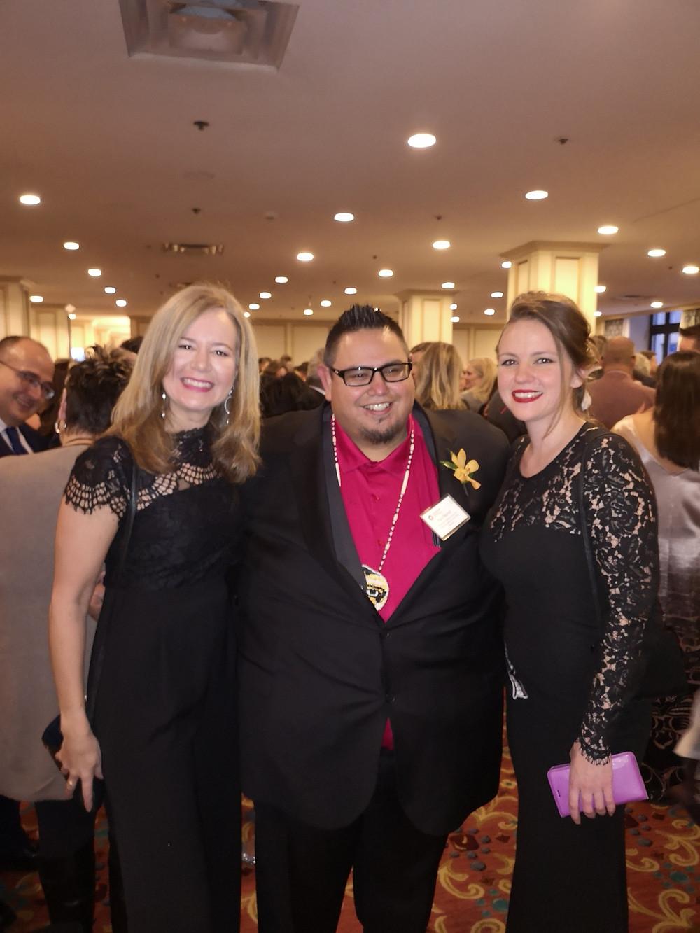 Loa Fridfinnson, Paul Natrall and Lisa Peterson