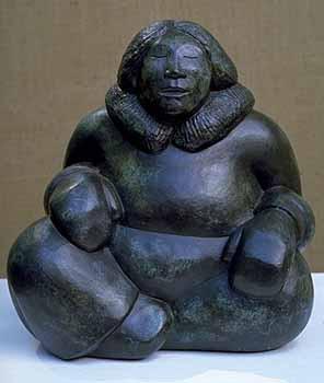Larry Ahakana Bronze Artwork