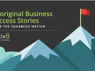 Aboriginal Business Success Stories - Infographic