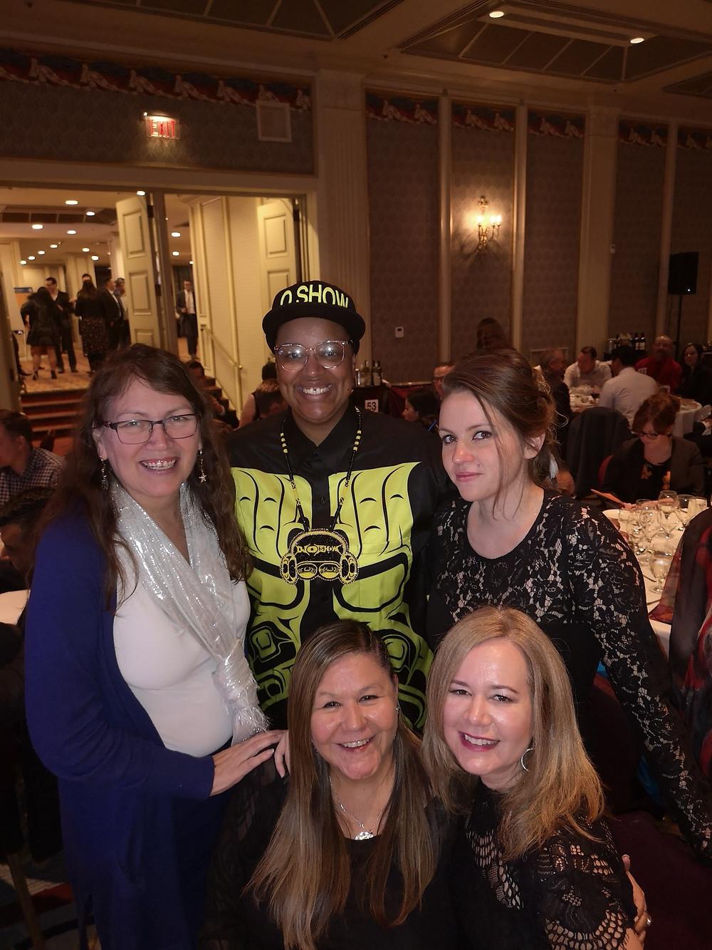 Deborah Baker, Orene Askew, Lisa Peterson, Chrystal Nahanee and Loa Fridfinnson